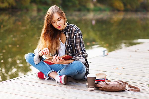 Lire en anglais pendant ses vacances