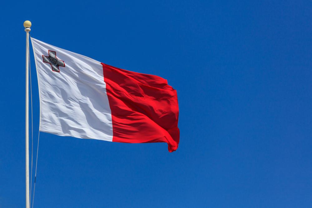 Séjour linguistique à Malte - Drapeau Malte