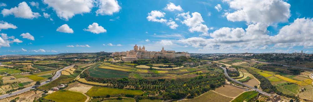Séjour linguistique à Malte - Cité médiévale Mdina