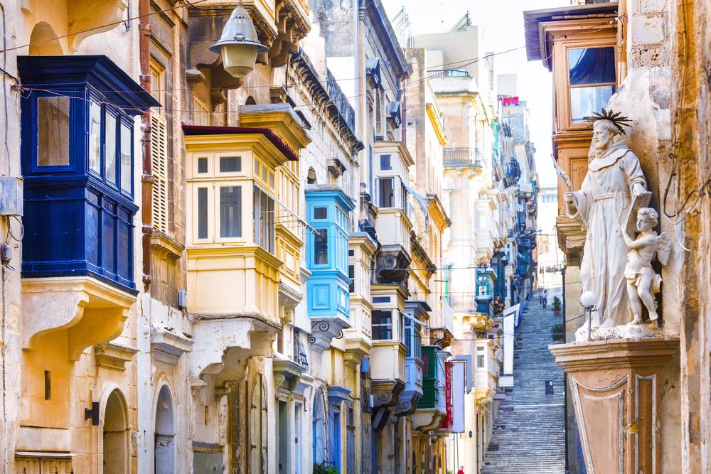 Séjour linguistique à Malte - Architecture Malte