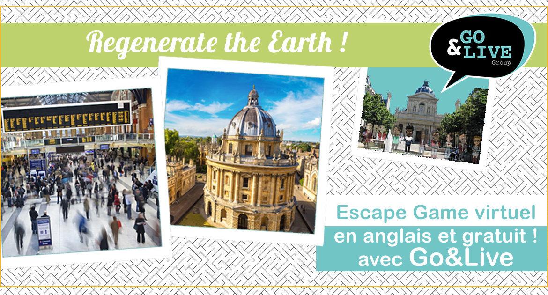 Regenerate the Earth : Un escape game gratuit en ligne et en anglais