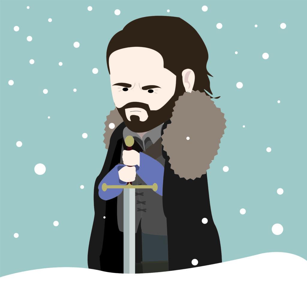 Les meilleures séries pour apprendre l'anglais - game of thrones jon snow